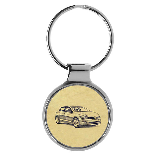Für VW Polo VI Fan Schlüsselanhänger A-4078