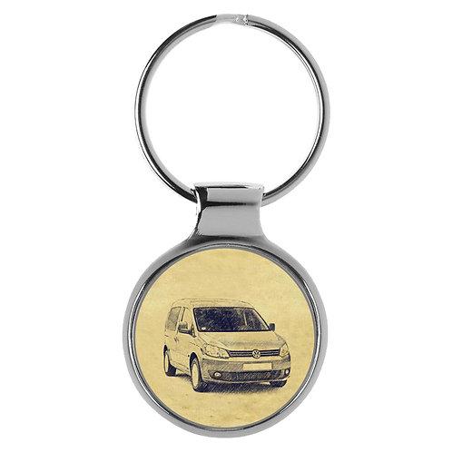 Für VW Caddy III Modellpflege Fan Schlüsselanhänger A-5024