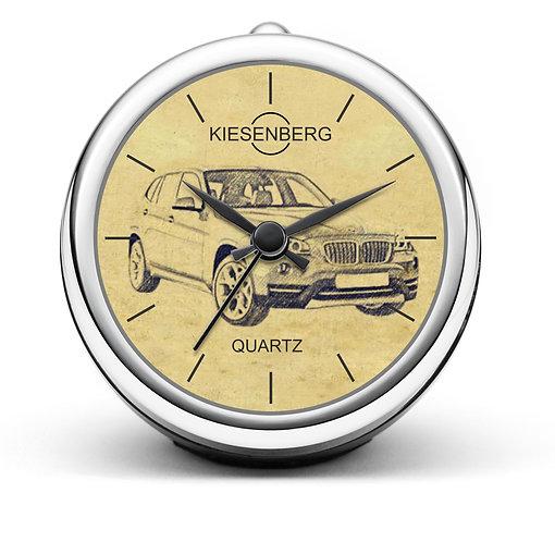 Für BMW X1 E84 Modellpflege Fan Tischuhr T-4622