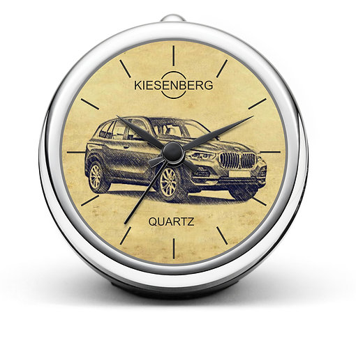 Für BMW X5 G05 Fan Tischuhr T-5434