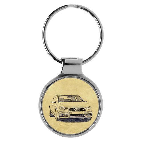 Für Audi S4 B9 Limousine Fan Schlüsselanhänger A-5123
