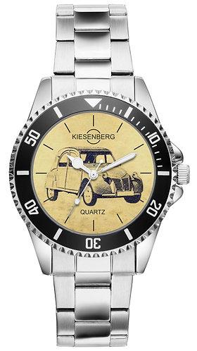 Für Citroen 2CV 1956 Fan Armbanduhr 5564