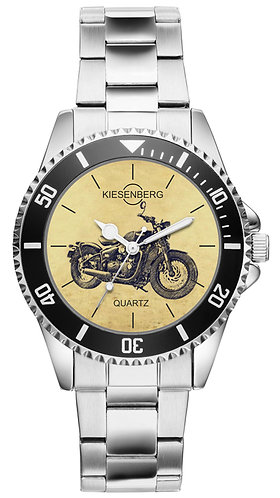 Für Triumph Bonneville Bobber Black Fan Armbanduhr 5560