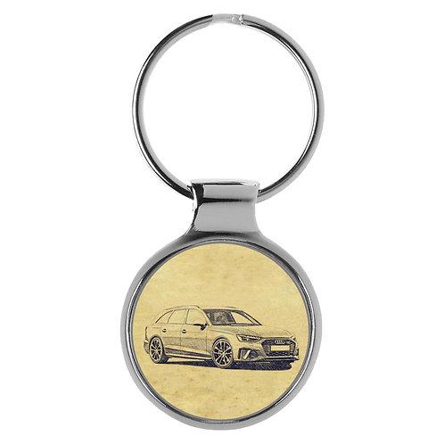 Für Audi S4 B9 Avant Modellpflege Fan Schlüsselanhänger A-5121