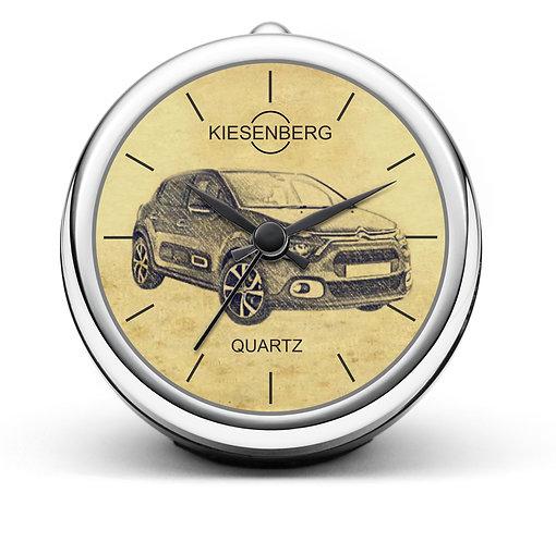 Für Citroen C3 III Modellpflege Fan Tischuhr T-5525