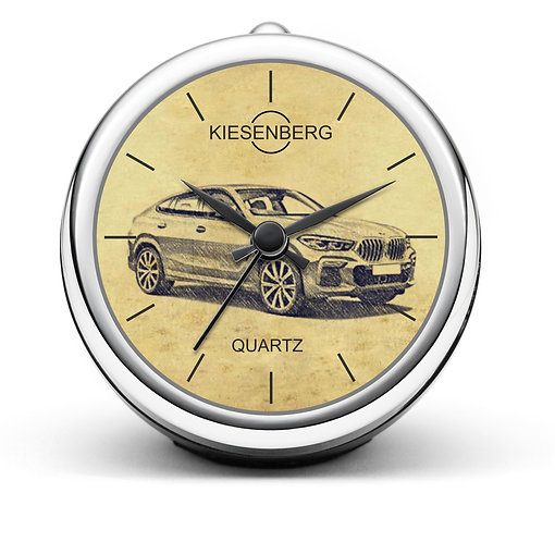 Für BMW X6 (G06) Fan Tischuhr T-5625
