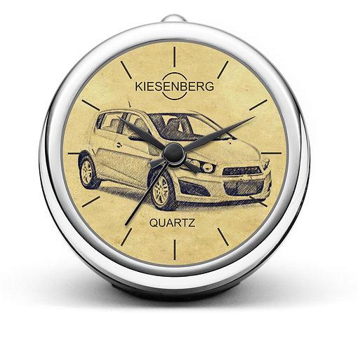 Für Chevrolet Aveo Fan Tischuhr T-4703