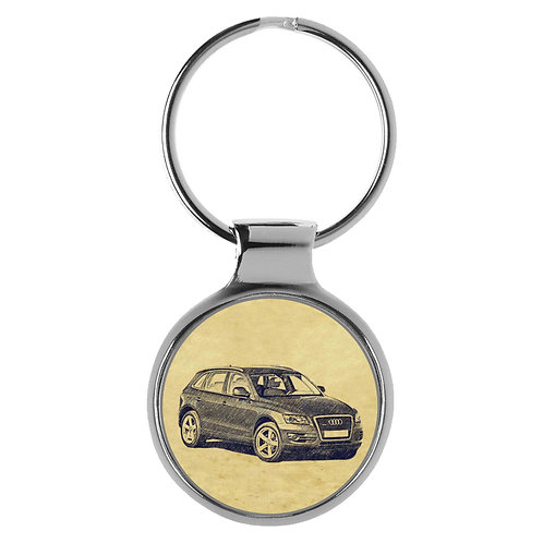 Für Audi Q5 8R Fan Schlüsselanhänger A-5136