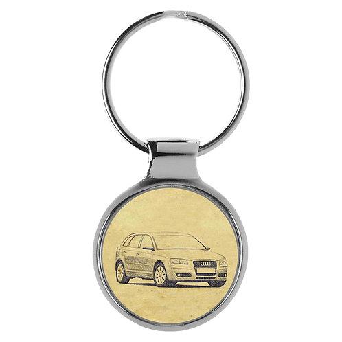 Für Audi A3 8P Sportback Fan Schlüsselanhänger A-5100