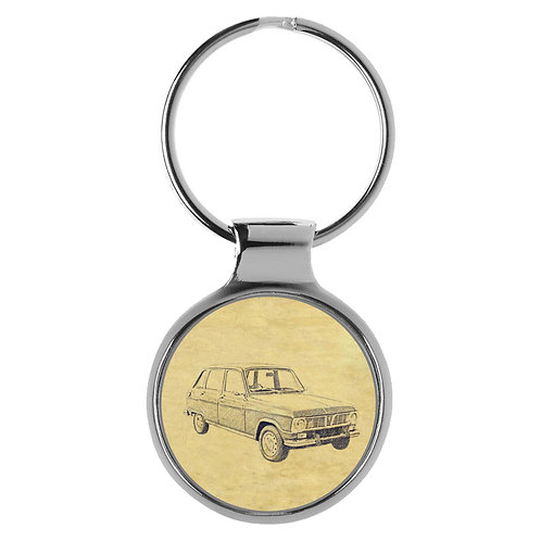 Für Renault 6 Fan Schlüsselanhänger A-4218