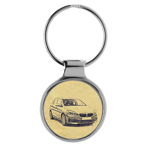 Für BMW 2er Active Tourer F45 Fan Schlüsselanhänger A-4640