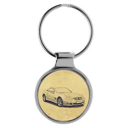 Für Mercedes SL R230 Modellpflege Fan Schlüsselanhänger A-5071