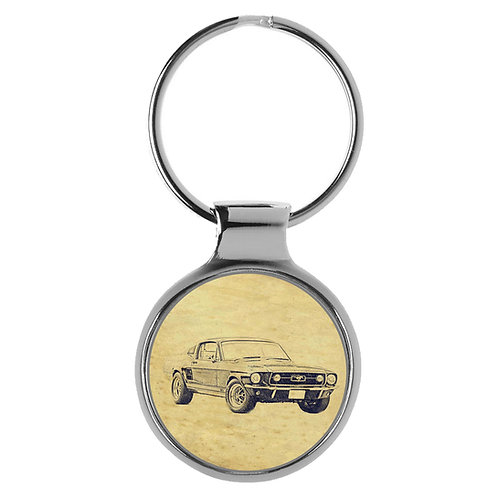 Für Ford Mustang 1967 Fan Schlüsselanhänger A-6445