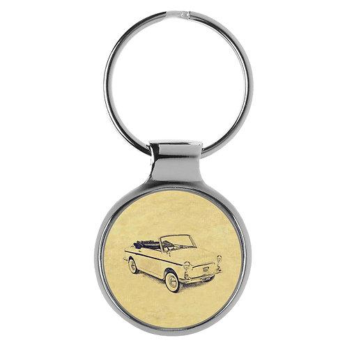 Für Autobianchi Bianchina Cabrio Fan Schlüsselanhänger A-4108