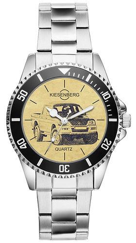 Für Mitsubishi L 200 III Modellpflege Fan Armbanduhr 4899