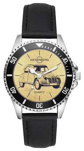 Für Citroen 2CV 1956 Fan Armbanduhr L-5564