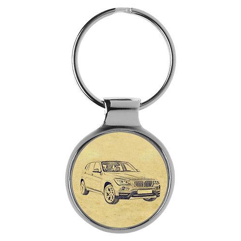 Für BMW X1 E84 Modellpflege Fan Schlüsselanhänger A-4622