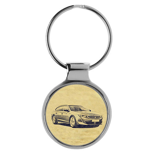 Für Peugeot 508 SW seit 2019 Fan Schlüsselanhänger A-4344