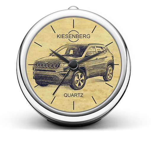 Für Jeep Compass Fan Tischuhr T-6288