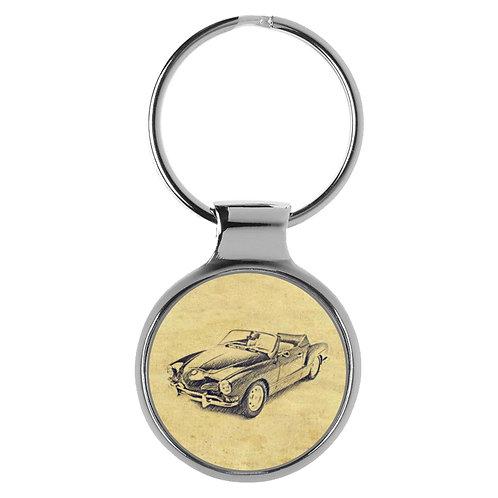 Für VW Karmann GHIA Cabrio Fan Schlüsselanhänger A-20401