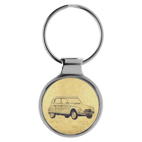 Für Citroen Dyane Fan Schlüsselanhänger A-5587