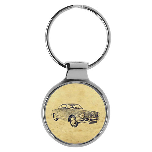 Für VW Karmann Ghia Typ 14 Bj. 1959-1969 Fan Schlüsselanhänger A-5459