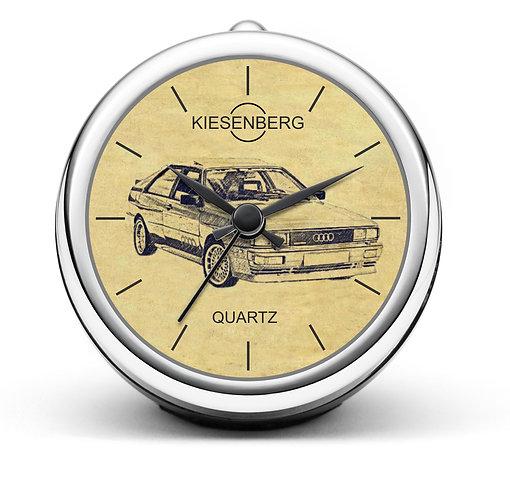 Für Audi Quattro Fan Tischuhr T-4051