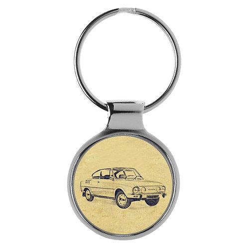 Für Skoda 110 R Fan Schlüsselanhänger A-4471