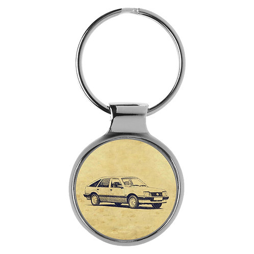 Für Opel Ascona C1 Schrägheck Fan Schlüsselanhänger A-5450