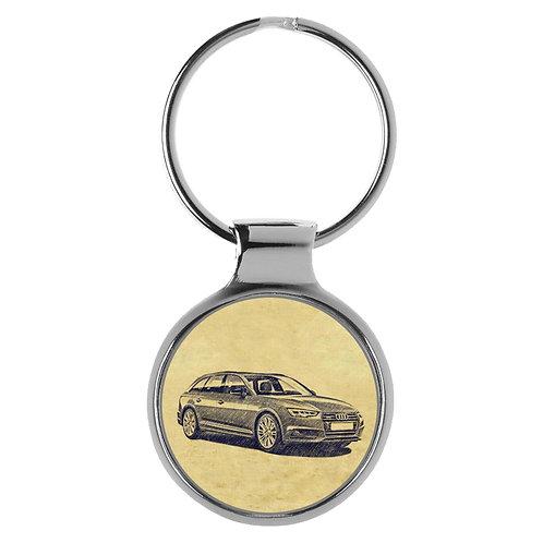 Für Audi A4 B9 Avant Fan Schlüsselanhänger A-5115