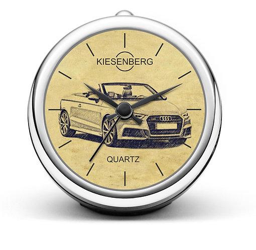 Für Audi A3 8V Cabrio S-Line Fan Tischuhr T-5089