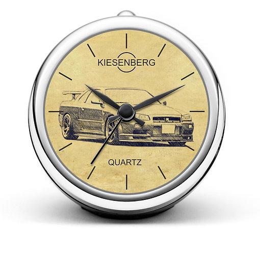 Für Nissan Skyline GT-R R34 Fan Tischuhr T-5325