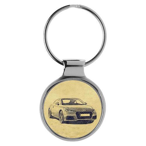 Für Audi TT 8S Coupe Modellpflege Fan Schlüsselanhänger A-5125