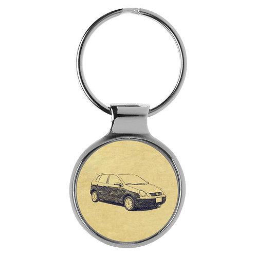 Für VW Polo IV Typ 9n Fan Schlüsselanhänger A-4092