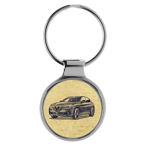 Für Alfa Romeo Stelvio Fan Schlüsselanhänger A-20340