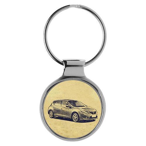 Für Nissan Tiida II Fan Schlüsselanhänger A-4809