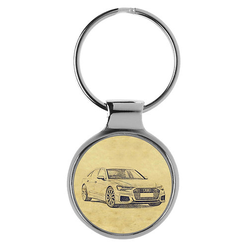 Für Audi A6 C8 S line Limousine Fan Schlüsselanhänger A-5124