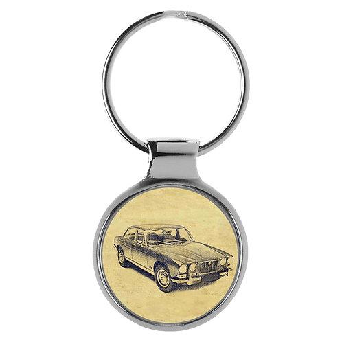 Für Jaguar XJ6 Oldtimer Fan Schlüsselanhänger A-6368