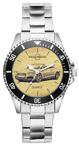 Für Audi A5 S5 RS5 Cabrio Fan Armbanduhr 6269