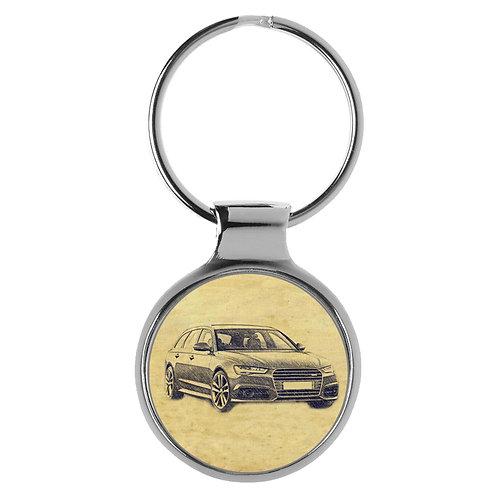 Für Audi A6 S6 RS6 Avant Fan Schlüsselanhänger A-6266