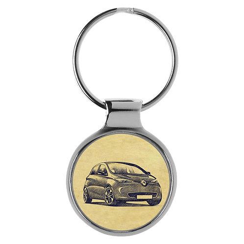 Für Renault Zoe Fan Schlüsselanhänger A-4216