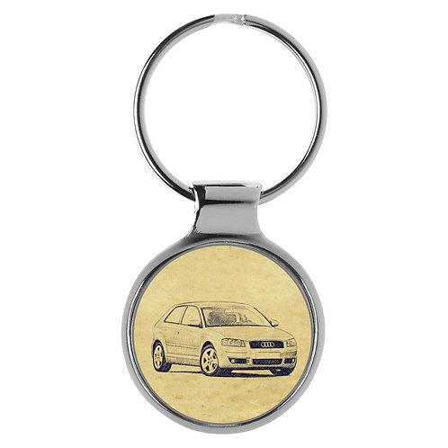 Für Audi A3 8P Fan Schlüsselanhänger A-5104