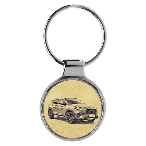 Für Hyundai Tucson TL N-Line Fan Schlüsselanhänger A-5201