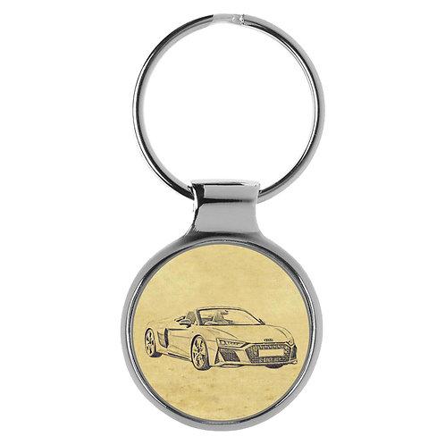 Für Audi R8 4S Spyder Modellpflege Fan Schlüsselanhänger A-5144