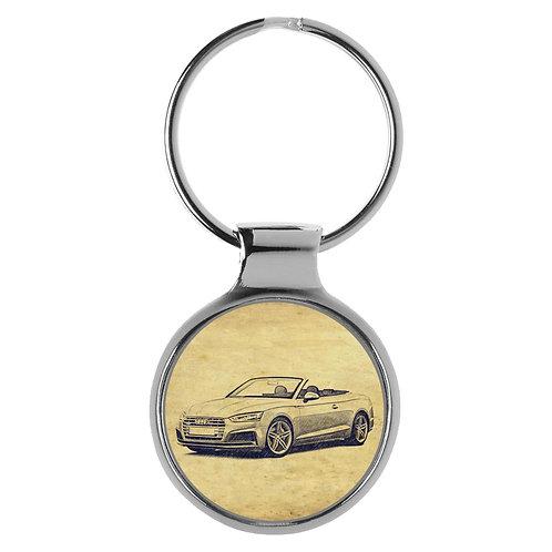 Für Audi A5 S5 RS5 Cabrio Fan Schlüsselanhänger A-6269