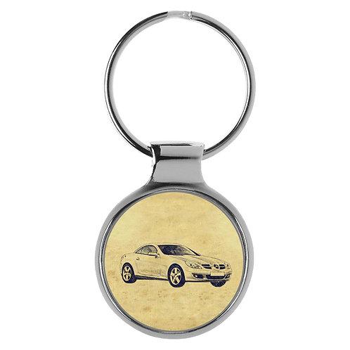 Für Mercedes SLK R171 Fan Schlüsselanhänger A-5465