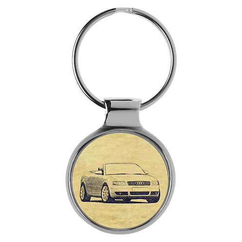 Für Audi A4 B6 Cabrio Fan Schlüsselanhänger A-4176
