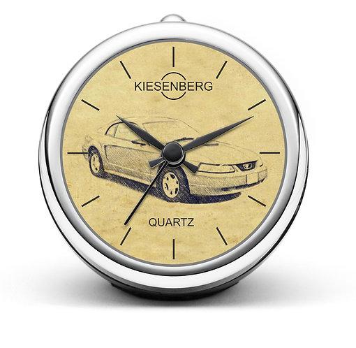 Für Ford Mustang IV Modellpflege Fan Tischuhr T-4934