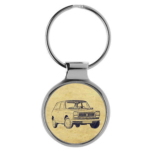 Für FIAT 127 Fan Schlüsselanhänger A-6481