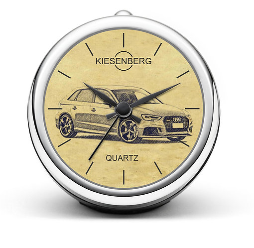 Für Audi RS 8V Sportback Fan Tischuhr T-5098